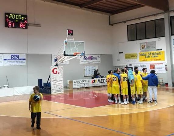 Basket C Gold, Castel Guelfo cede al fotofinish contro Montecchio