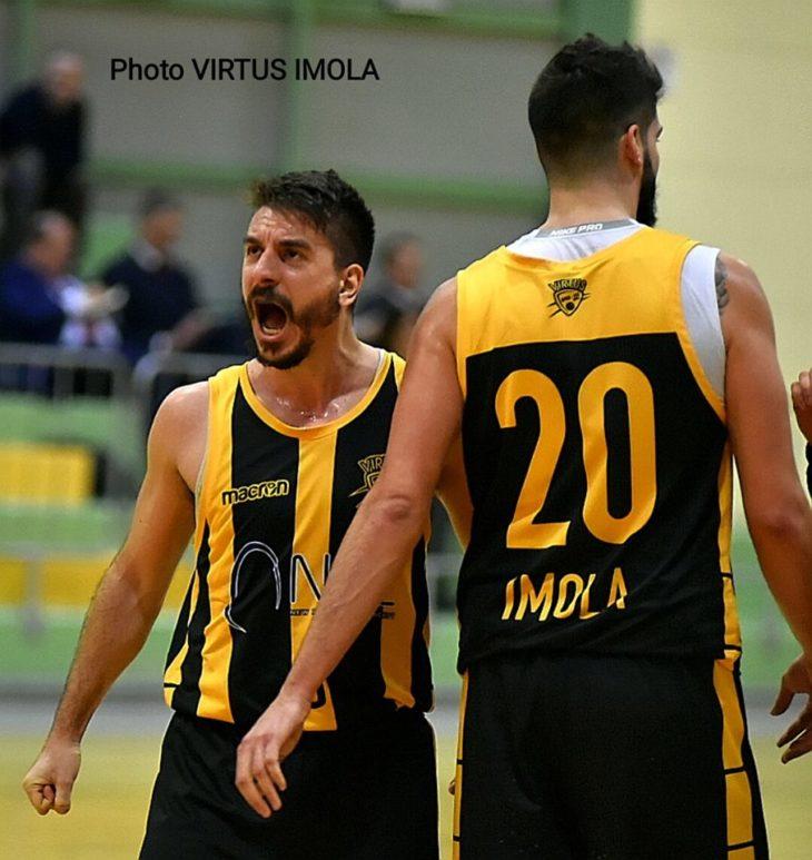 Basket C Gold, la Virtus Vis Imola vince e si gusta un… Boero