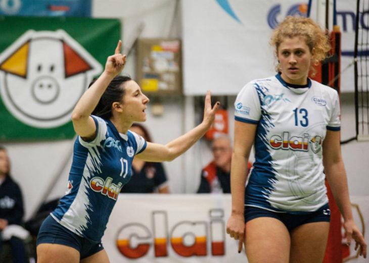 Volley B2 femminile, Capannori troppo forte per la Csi Clai Imola