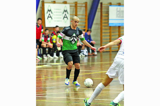 Francesco Liberti, il Gatto Silvestro dell'Ic Futsal balzato dalla C2 alla serie A
