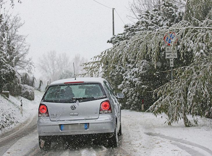 Neve e pioggia, punto critico Sassoleone. Timori per Sillaro e Quaderna. Allerta per le gelate