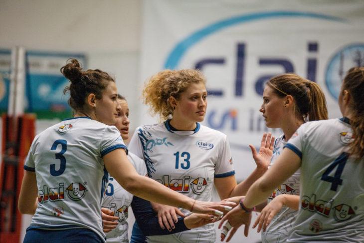 Pallavolo B2 femminile, la Csi Clai Imola inizia il girone di ritorno con una vittoria