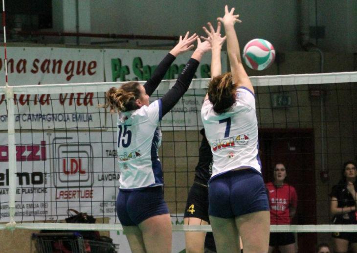 Volley B2 femminile, troppo forte il Campagnola per la Csi Clai Imola