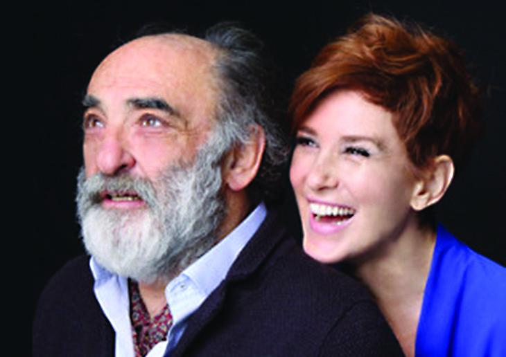 «Il padre» di Alessandro Haber e Lucrezia Lante Della Rovere sul palco dello Stignani