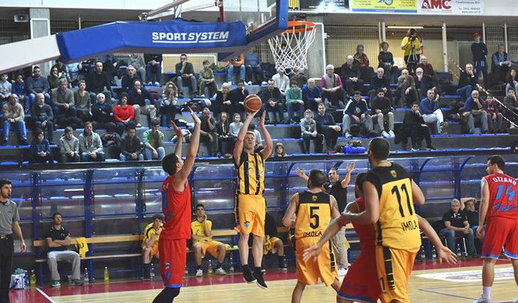 Basket C Gold, pronto riscatto per la Vsv Imola sui monti reggiani