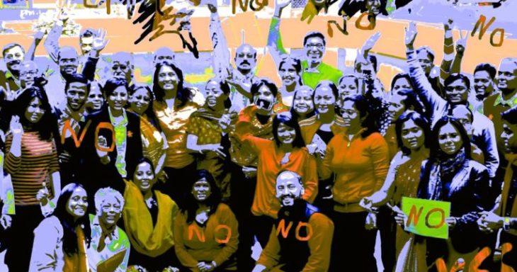 Violenza sulle donne, flash mob a Medicina