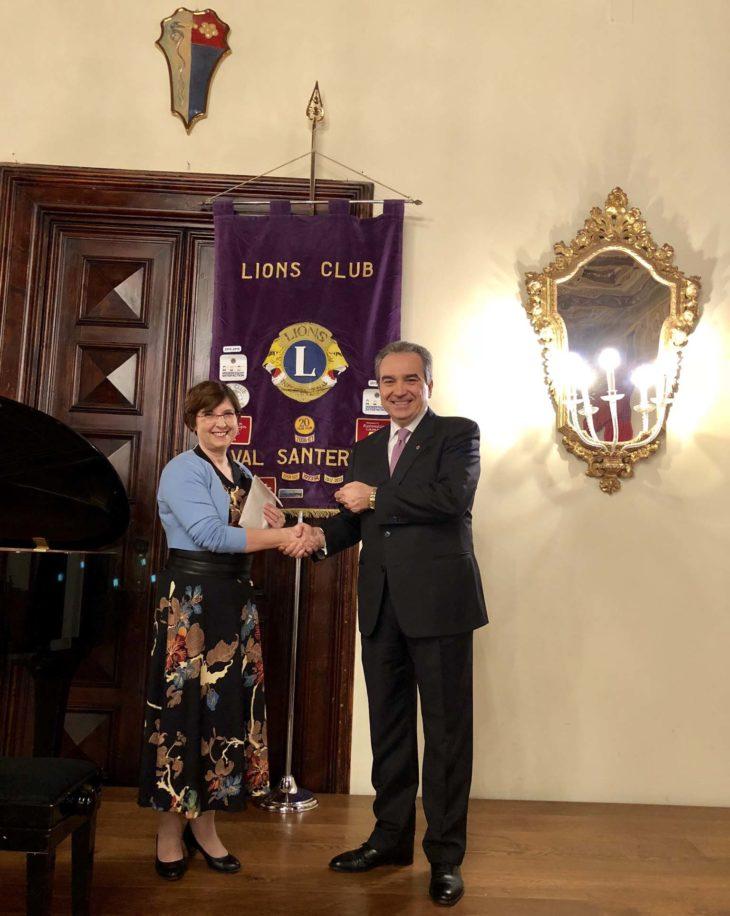 Il Lions Club Val Santerno in favore dell'associazione Amare per l'auto mutuo aiuto dei reumatici