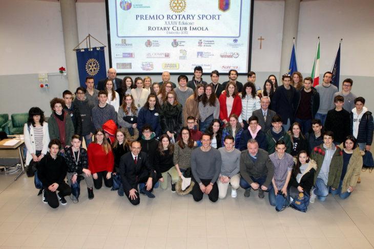 Scuola e sport, tutti i medagliati del Premio Rotary Sport