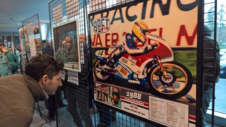 Moto e storia: oltre trecento appassionati alla mostra ed evento dedicato al team imolese Bbft campione d'Italia 1988