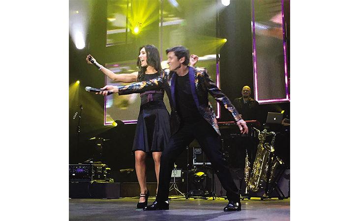 Lisa Manara, la cantante imolese in tour con Gianni Morandi