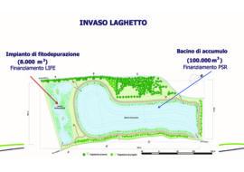 Progettato un nuovo bacino artificiale per irrigare i campi a Poggio Grande