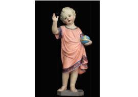 La statua rubata del Gesù Bambino torna al duomo di San Cassiano