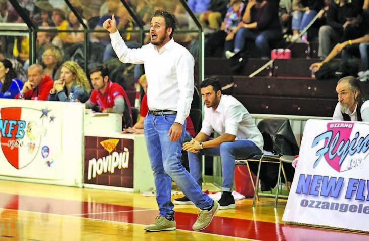 Basket C Gold, domani la partita per la vetta dei Flying Balls contro il Fiorenzuola
