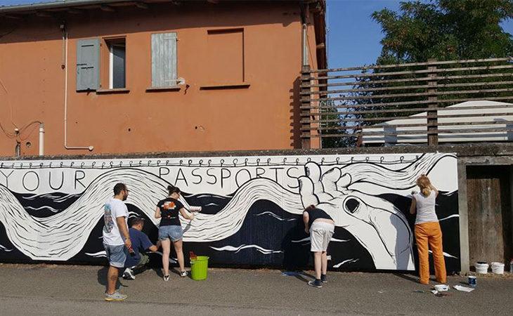 Vandalismo, il lavoro dei volontari a Castello e Medicina contro i danneggiamenti