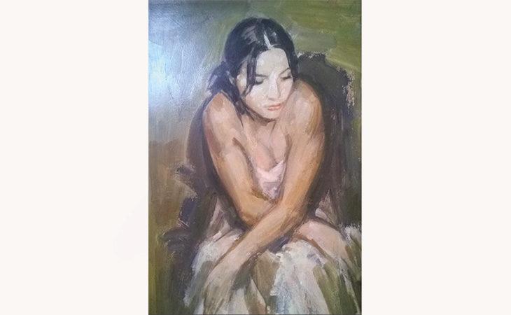Le opere dell'artista Giuseppe Tampieri in mostra alla galleria Pontevecchio di Imola