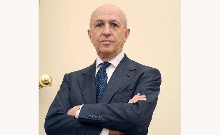 Il presidente dell'Abi Antonio Patuelli a Imola per parlare del ruolo delle banche sul territorio