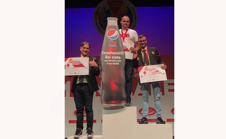 L'imolese Daniele Pasini ancora campione del mondo di pizza «gigante»