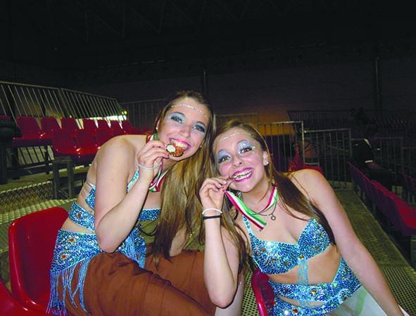 Le danze orientali come sport, intervista alle campionesse Gaia Chillo e Giulia Guccini