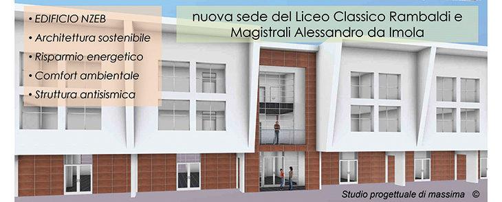 Nel progetto del nuovo polo liceale anche una palazzina di tre piani in legno lamellare