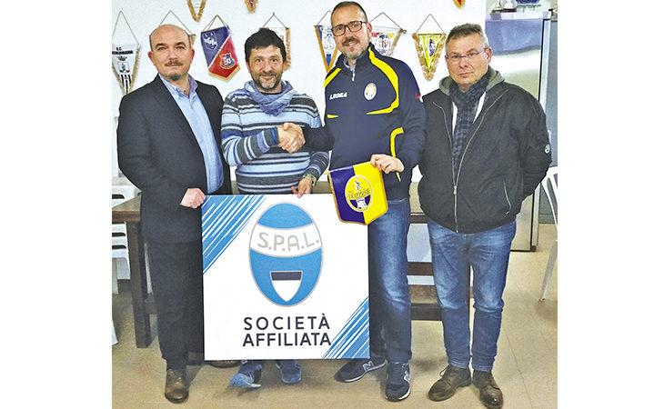 Calcio, affiliazione tra Dozzese e Spal. In programma eventi per tecnici e bambini