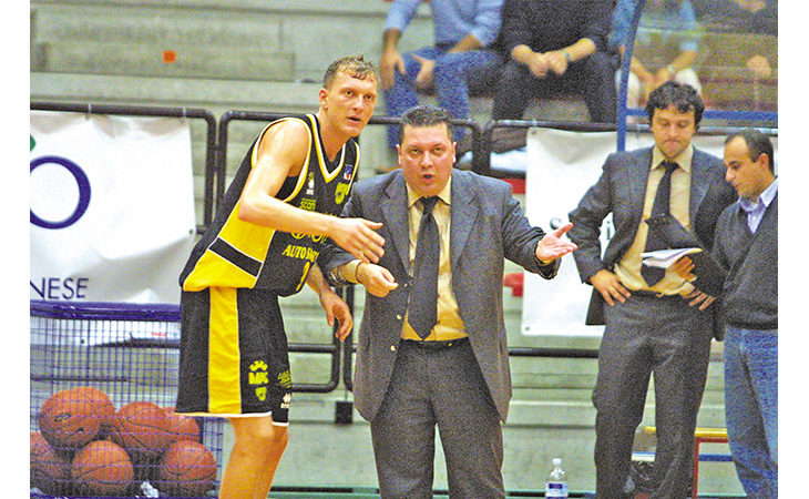 Basket, l'ex Virtus Imola Mauro Bonaiuti parla della volata a tre in C Gold