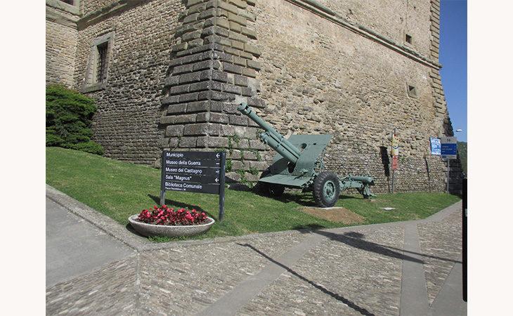 Il museo della Guerra di Castel del Rio acquista un cannone Skoda 100 del 1917