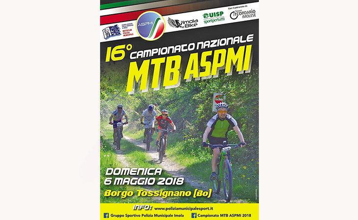 A Borgo Tossignano i titoli tricolori di mountain bike per i vigili urbani organizzato dal Motoclub Pm Imola