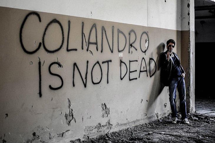 L'ispettore Coliandro a Ozzano, alcune riprese del telefilm in via Claterna e dintorni