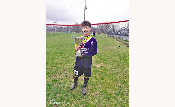 Il giovane calciatore medicinese Davide Maria Montaperto è tra i selezionati per un torneo a Miami