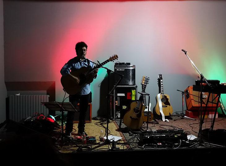 A Gocce di musica 2018 Fabio Mazzini, cantautore folk