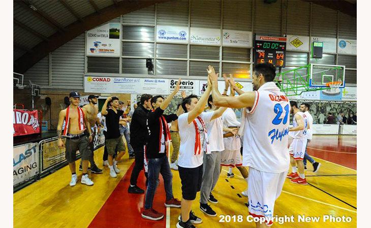 Basket C Gold, i Flying Ozzano in finale play-off per il secondo anno consecutivo
