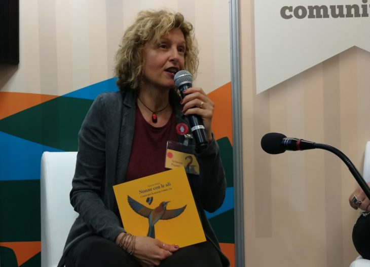 """Salone del Libro, Arianna Papini: """"Il mio premio Andersen subito dopo 'Nonni con le ali – Nonne con le ali' non può essere un caso''"""