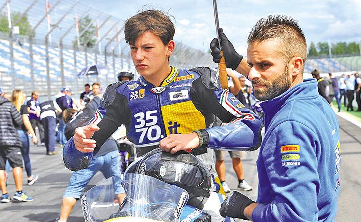 Superbike 2018 a Imola, in pista anche il pilota di Chiavica Marco Carusi