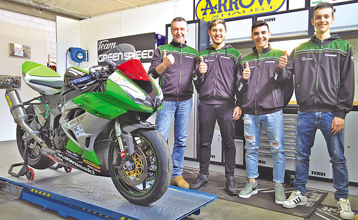Superbike 2018 a Imola, presente anche il team castellano Green Speed del manager Simone Steffanini