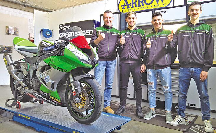 Superbike 2018 a Imola, presente anche il team castellano Green Speed del manager Simone Steffanini