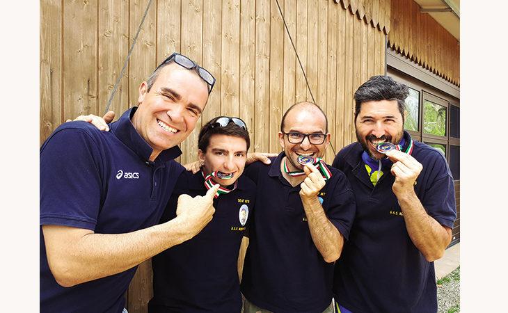 Mountain Bike non udenti, titolo tricolore e altre medaglie per l'imolese Luca Plazzi nella staffetta