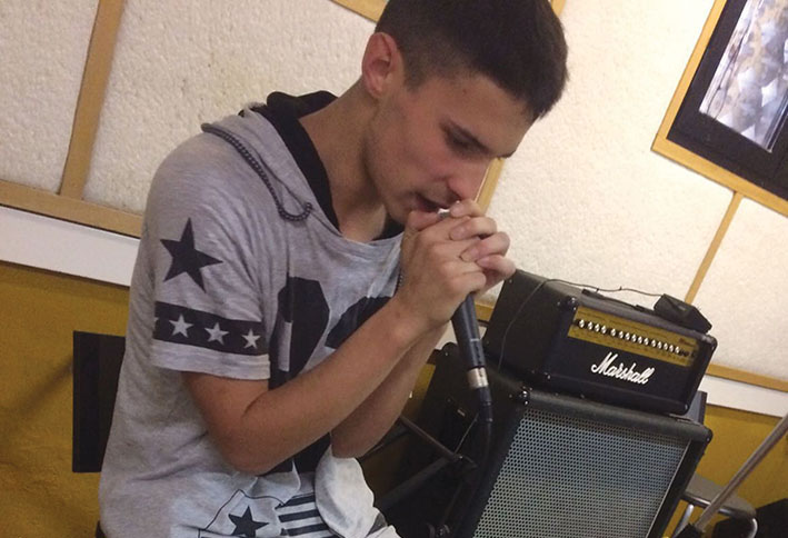 A Gocce di musica: Criss, un giovane rapper a Ca' Vaina