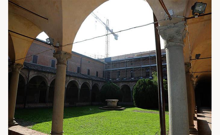 All'ex convento dell'Osservanza di Imola il restauro ripartirà in estate