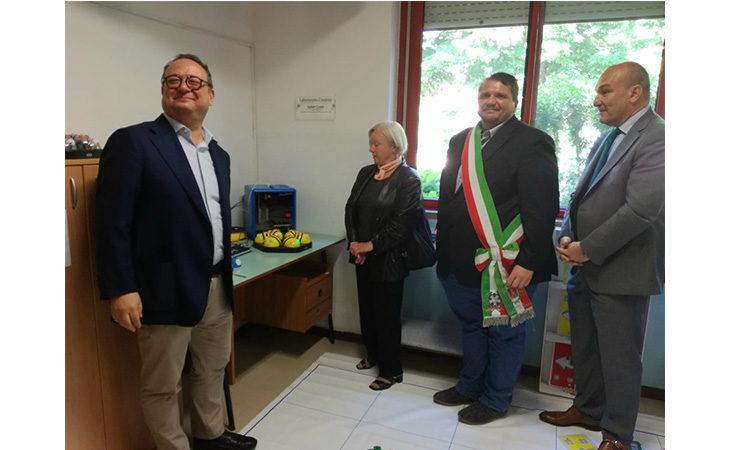 Il Comune di Ozzano dedica un laboratorio di robotica all'ex sindaco Valter Conti