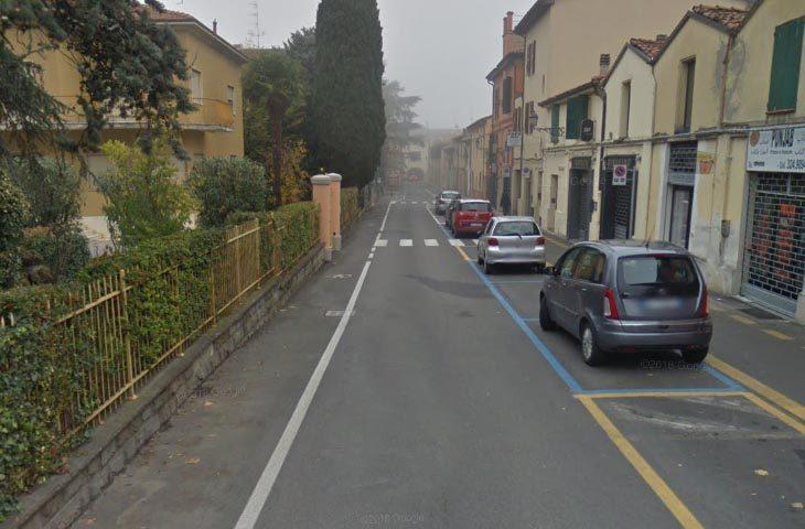 A Castello Hera asfalta le vie Volta, dei Mille e Mazzini