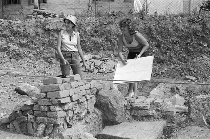 Gli scavi del Castrum Sancti Cassiani tra via Villa Clelia e via Croce