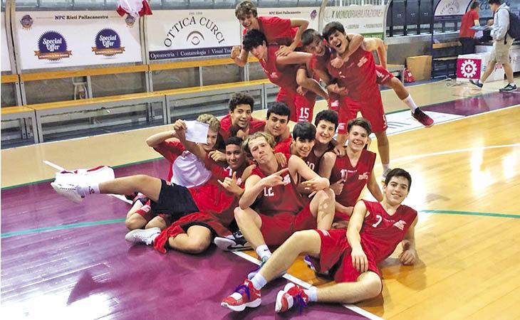 Basket Under 15, l'International Imola tra le migliori squadre d'Italia alle finali di Roseto