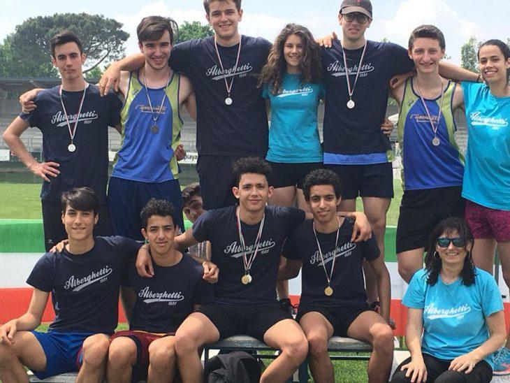 Atletica, terzo posto per l'Alberghetti ai Campionati nazionali studenteschi