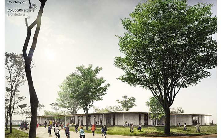 Presentato il progetto per il nuovo polo scolastico di Osteria Grande