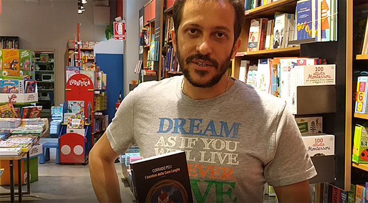 Il noir «I bambini delle case lunghe» raccontato dallo scrittore medicinese Corrado Peli. IL VIDEO