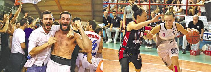 Luca Pizzi e Federica Franceschelli, i destini opposti della coppia del basket