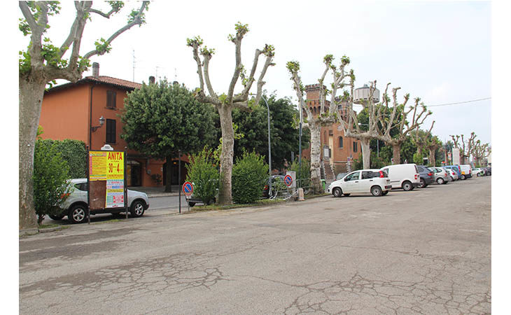Pronta la riqualificazione di piazza Borgo General Vitali a Mordano