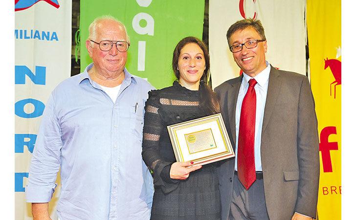 Medaglia d'oro alla carriera per Carlotta Giovannini durante la Sagra dell'Agricoltura di Mordano