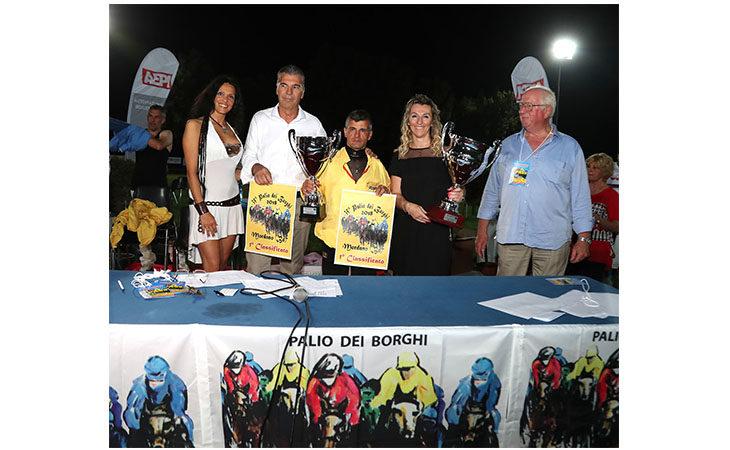 Palio dei Borghi, a Mordano trionfa per il secondo anno di fila Simone Mereu