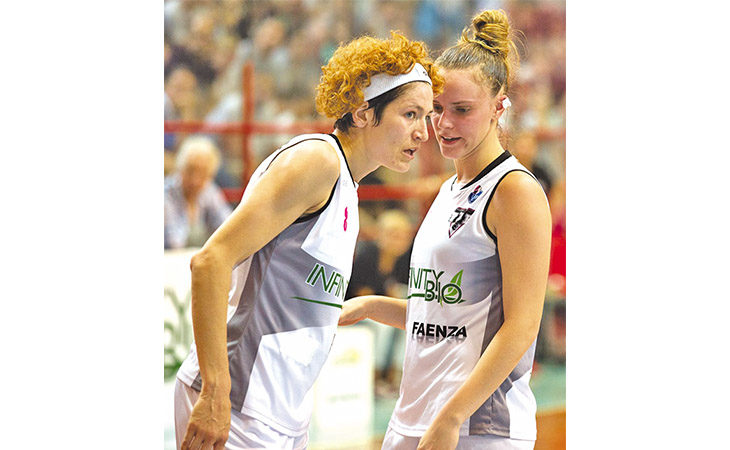 Basket femminile, l'imolese Federica Franceschelli convocata in nazionale